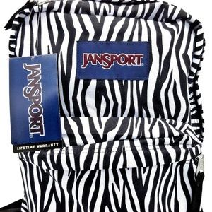 Jansport Superbreak Zebra Backpack